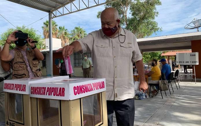 """El INE puso """"trabas"""" para la consulta en Baja California Sur: Víctor Castro"""
