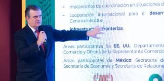 El 9 de septiembre se realizará diálogo económico de alto nivel entre México y EU