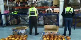 Aduanas y Guardia Nacional decomisan 55 kg de Fentanilo en el AICM