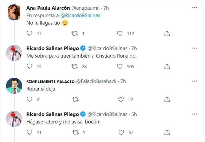 comentarios salinas pliego twitter - Salinas Pliego dice que con su fortuna podría traer a Messi y Cristiano; usuarios en redes se burlan