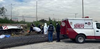 Grúa colisiona y mata a 5 trabajadores en Ecatepec