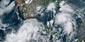 """Protección Civil emite alerta roja en Sinaloa por presencia de """"Nora"""""""
