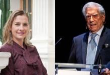 "Con guante blanco, Gutiérrez Müller responde a Vargas Llosa sobre ""relección"" de AMLO"