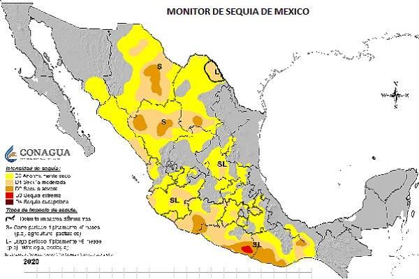 Monitor de sequía