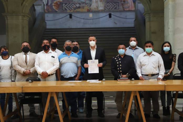 Firman convenio para establecer la paz entre comunidades de Oaxaca