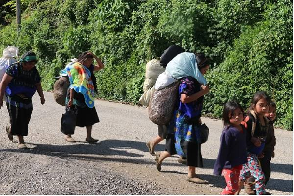 Temor por violencia en Pantelhó / Foto: Frayba
