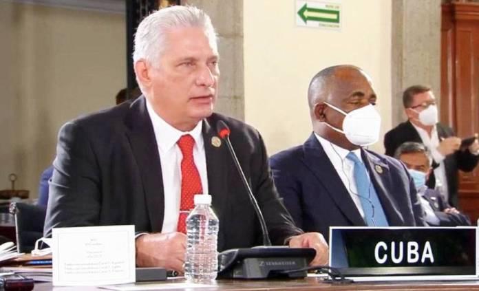 Audaz denuncia de Díaz Canel contra Estados Unidos