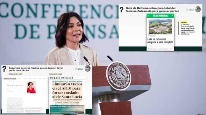 Presidencia exhibe a Pinochines por mentir sobre el Cutzamala y el AIFA