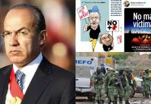 Calderón pide que no haya más víctimas de violencia, ¿y las de su sexenio?