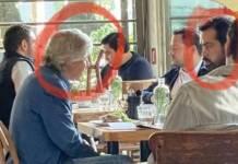 Viralizan foto de Claudio X. con diputado de MC en restaurante
