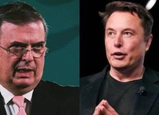 Ebrard y Musk sostienen llamada telefónica