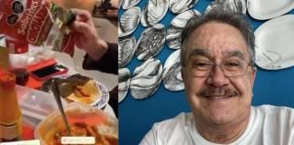 """Pedro Sola se burla de Daniel Bisgono por comer un platillo mexicano """"muy naco"""""""
