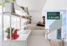 Usuario critica la venta de departamento de 28 metros cuadrados en casi 2 millones de pesos