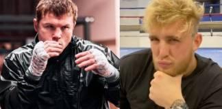 'Canelo' se dice dispuesto a pelear contra Jake Paul y este se burla