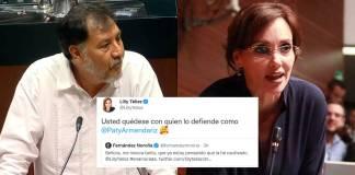 Téllez y Noroña encienden redes sociales por discusión