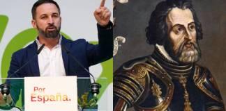 Vox demanda a México restaurar el sepulcro de Hernán Cortés