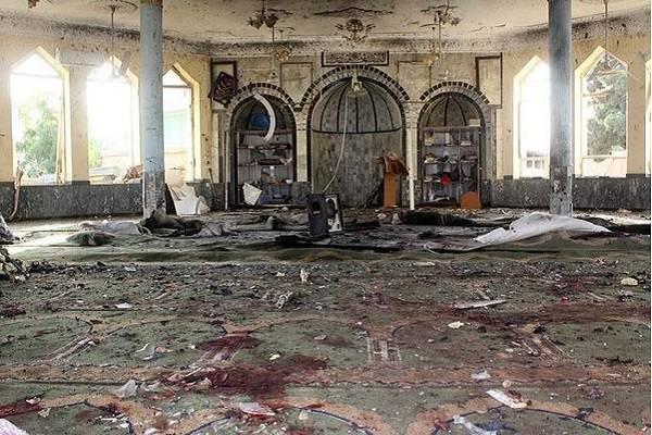 Afganistán sufre atentado en mezquita