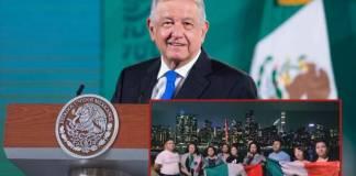 AMLO podría reunirse con migrantes durante su visita a la ONU