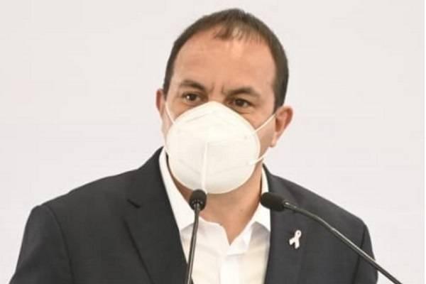 Cuauhtémoc Blanco denunció narcopolíticos en Morelos