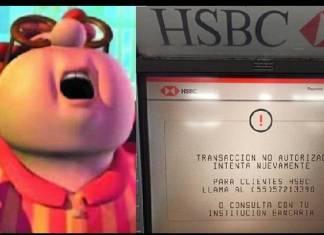 Banco HSBC varios días con fallas