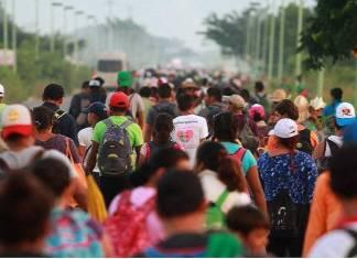 Ebrard denuncia engaños a migrantes