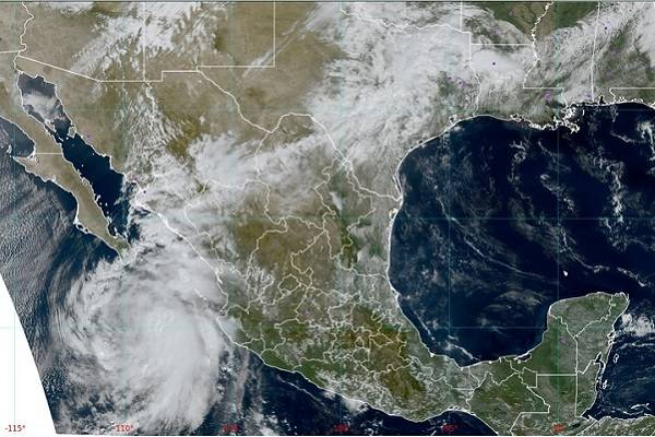 """Huracán """"Pamela"""" podría alcanzar categoría 3"""
