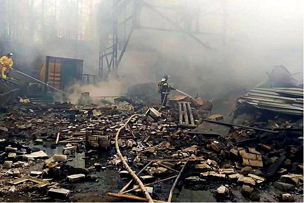 En Rusia fallece toda la plantilla laboral tras explosión de fábrica