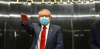 Secretario de Salud en el Senado