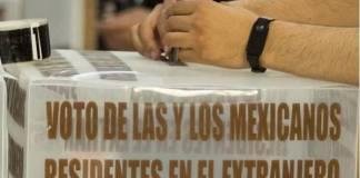 INE debe ampliar posibilidades de voto de mexicanos en el extranjero