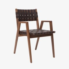 Woven Dining Chair Banquet Cover Hire Solid Leather Chairs By Smilow Furniture