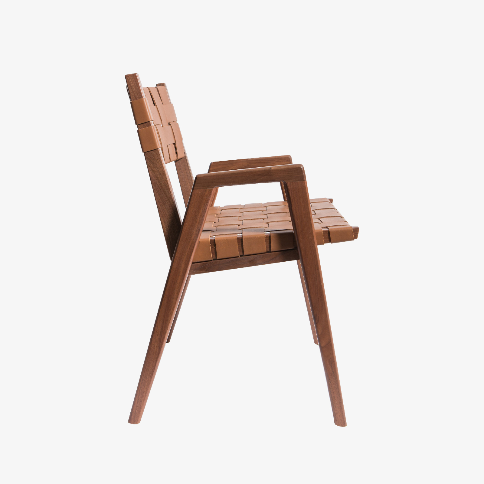 Woven Dining Chair Solid Woven Leather Dining Chairs By Smilow Furniture