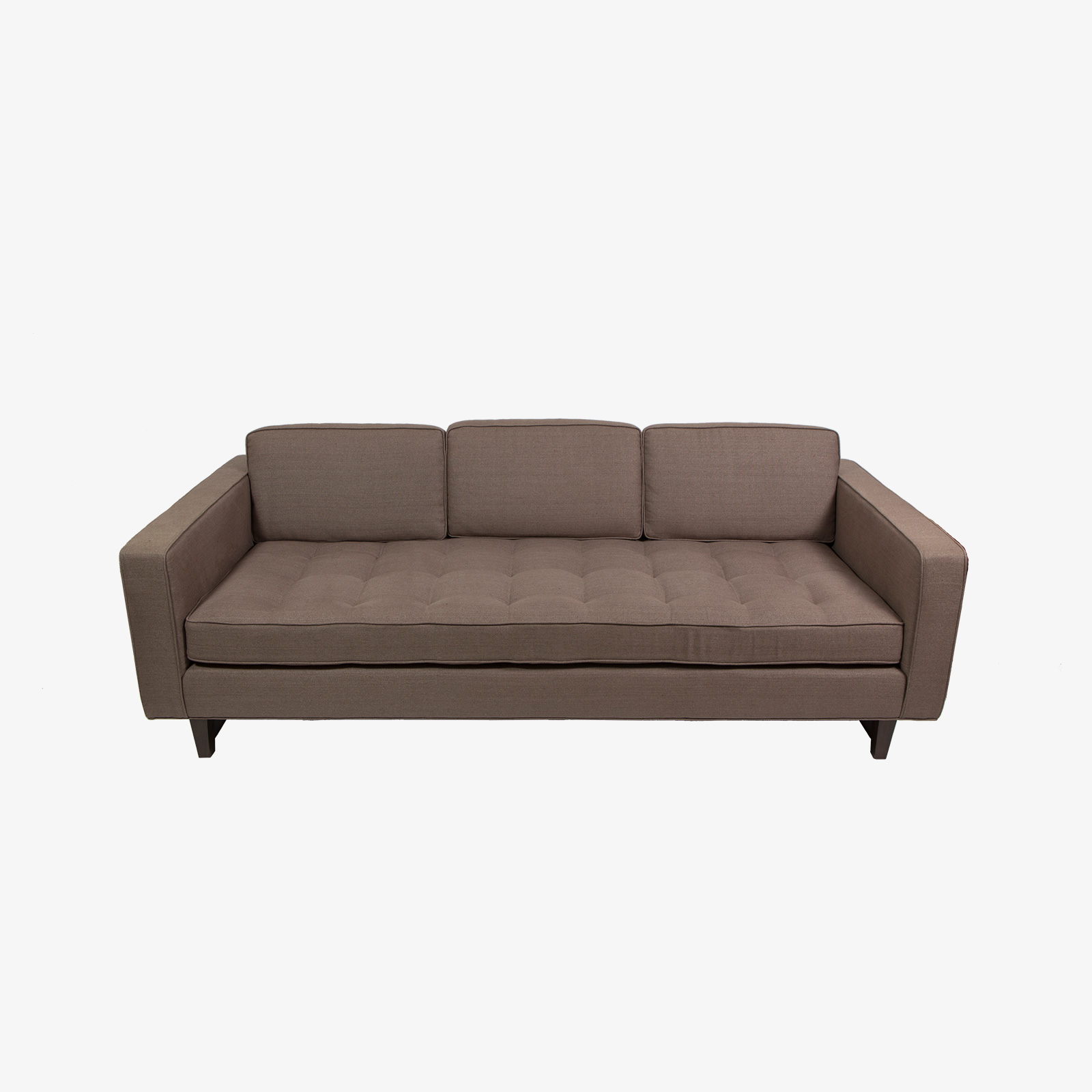 down feather sofa sofas new york city 3 with button tufted seat and back