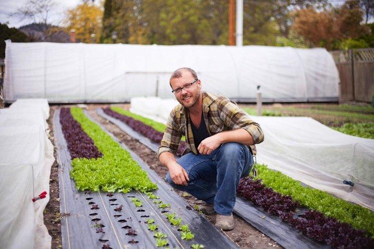 "Lucrative city farming on borrowed land with Curtis Stone, author of ""The Urban Farmer:"" 026"