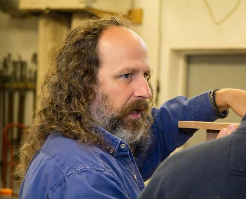 The intricacies of timber framing made simple with timber framing instructor Skip Dewhirst: 040