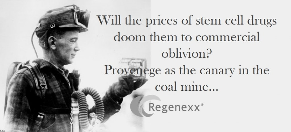 Dendrion As A Canary in The Cell Therapy Industry Coal