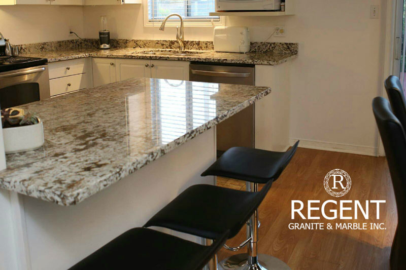 granite kitchen counters pantry organizer countertops in london on regent benefits of