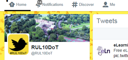 DAY FOUR of RUL10DoT: Sending @messages