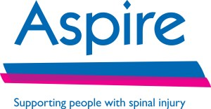 Aspire Charity Logo Supporting People with spinal injury
