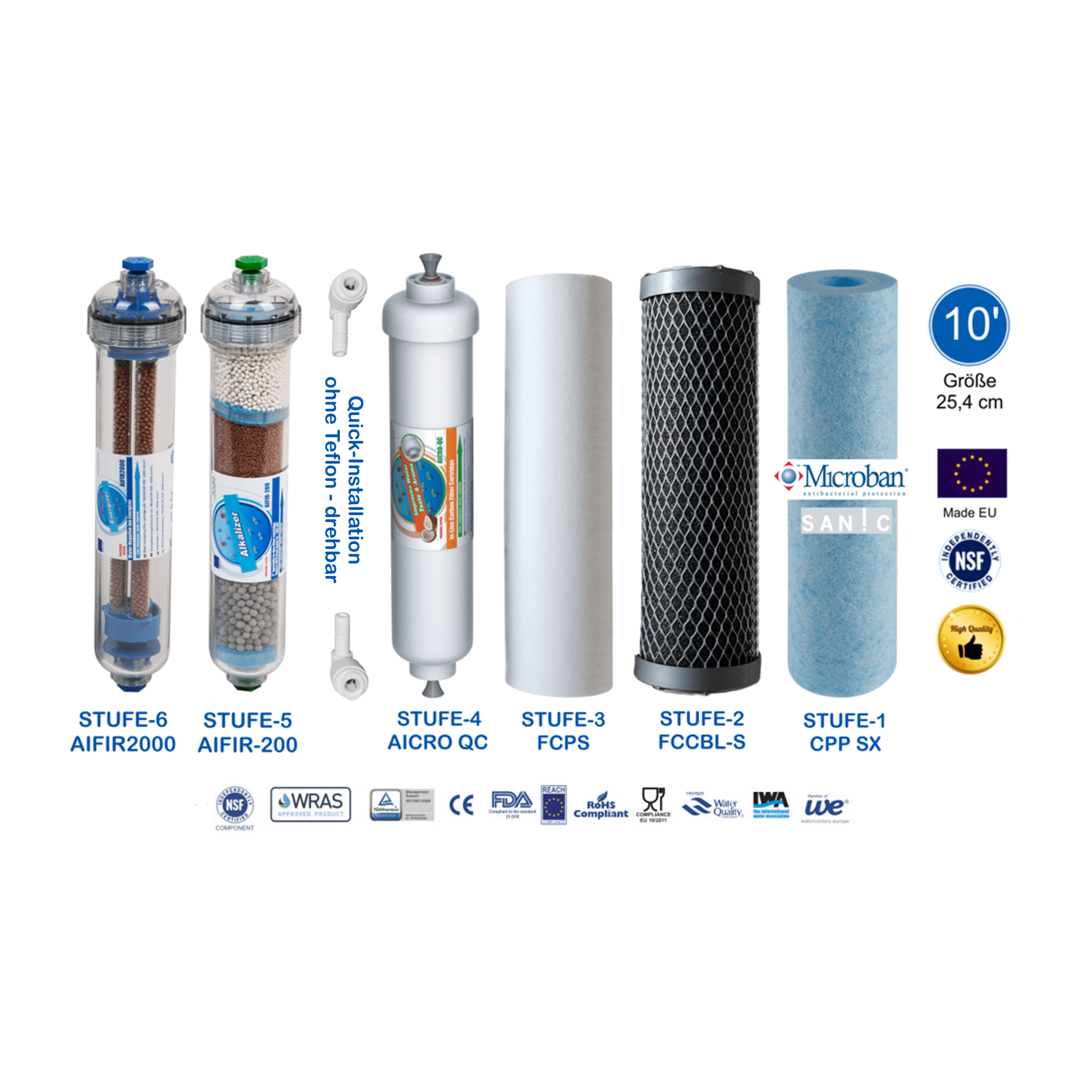Utimate Plus Pro Perfect-Water Ohne Tank