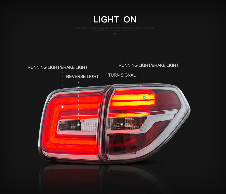 nissan patrol smoked tail lights qatar
