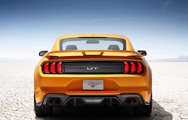 Ford mustang tail lights qatar