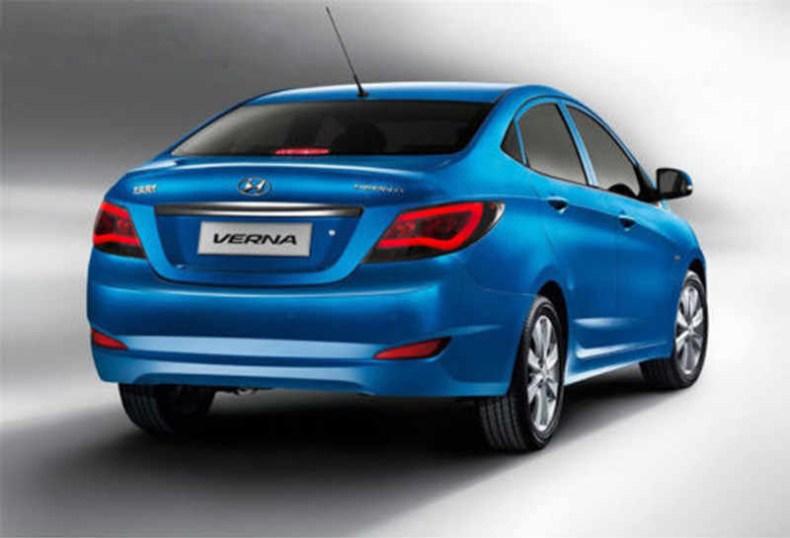 Hyundai Accent Tail Lights 2012-2017