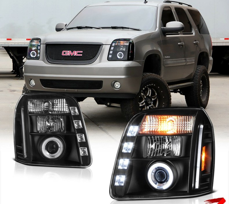 GMC yukon headlights qatar