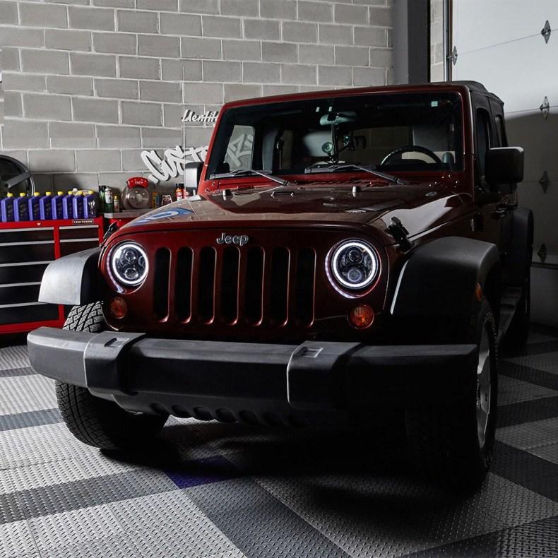 jeep wrangler head lights qatar