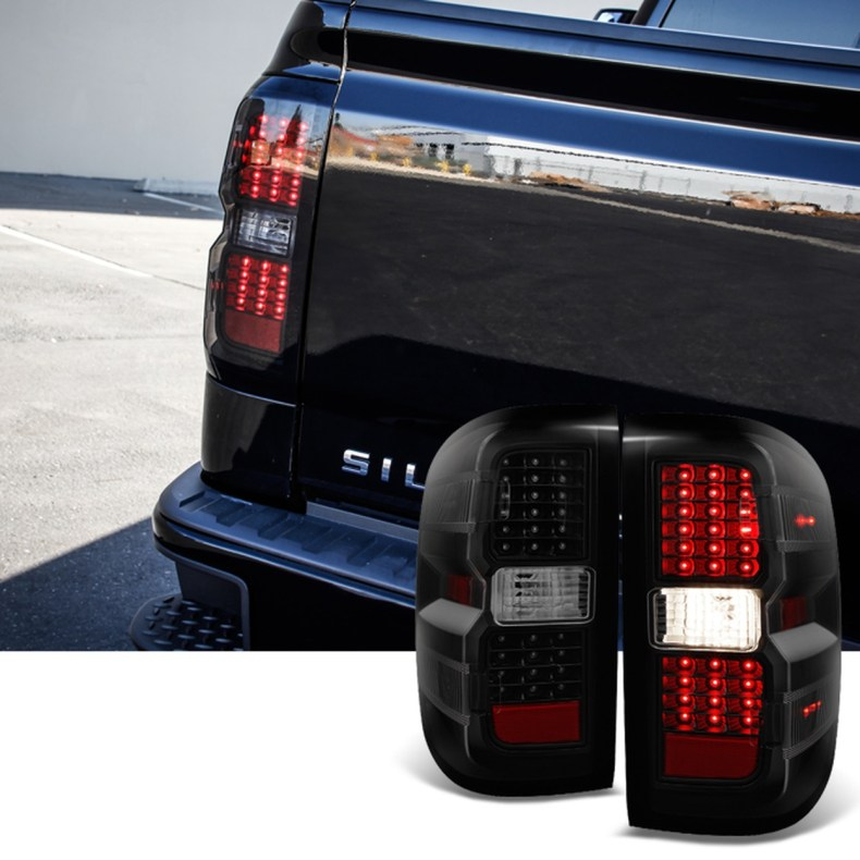 chevrolet silverado tail lights taillight doha qatar