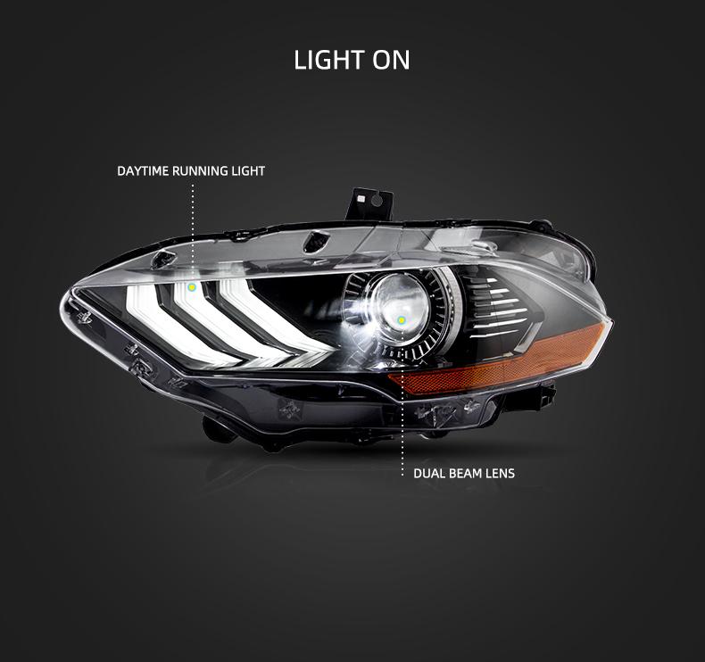 ford mustang head lights qatar
