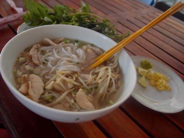 The Vietnamese Pho Ga. Deliciiiiiiious.