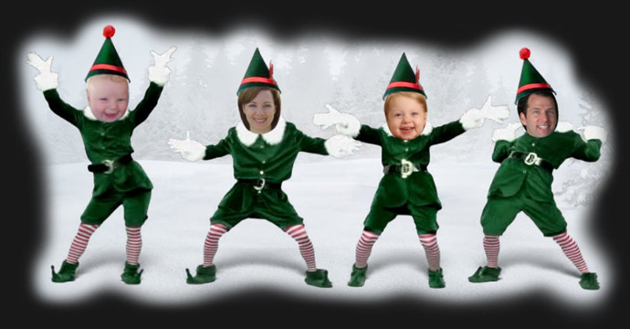 Jeffrey Friedls Blog  The Elf Yourself School of Fine