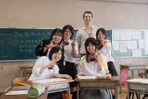 Jeffrey Friedl' Visit Japanese High School