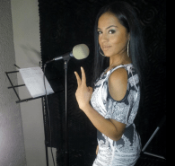 Elaine Shepherd Jammin' in the studio